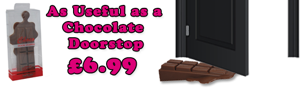 Chocolate Novelty Doorstop
