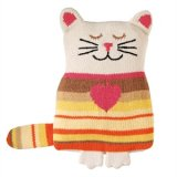 Cute Hand Knit Cat Winter Warmer