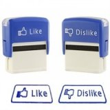 Like and Dislike Facebook Novelty Stamps